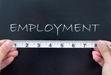 Measuring employment poster