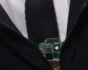 Secret  Electronic Chip