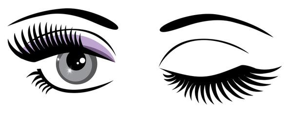 Eyes Winking