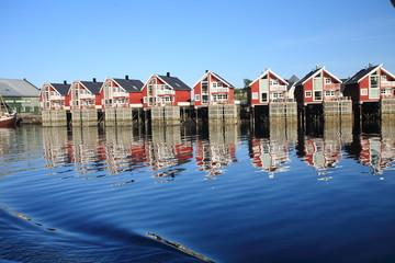 svolvae trollfjord norvegia