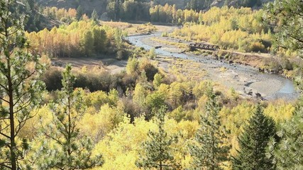 Coldwater River Canyon Fall Colors