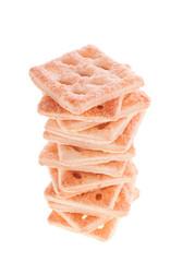 Stack of Dry Crispy Cookies