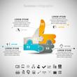 Zdjęcia na płótnie, fototapety, obrazy : Business Infographic