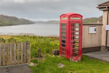 Phone Booth at the Loch