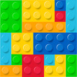 Lego blocks pattern vector - 73385951