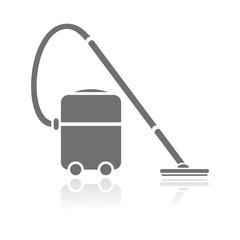 Icono aspirador industrial reflejo FB