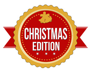 Christmas edition badge