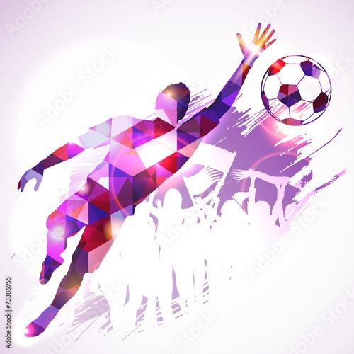 Fototapeta Soccer Goalkeeper