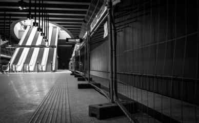 Underground under construction