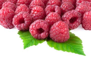 raspberry fresh raspberries background