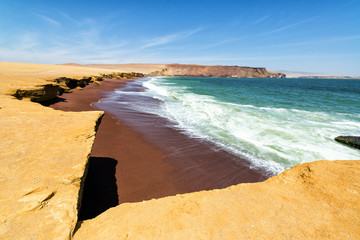 Red Beach at Paracas