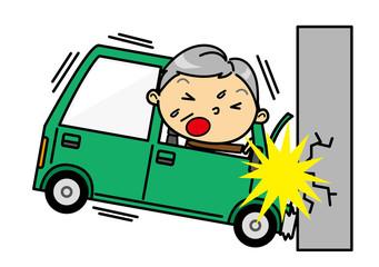 SDシニア男性 交通事故