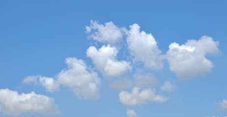 Beautiful the cloud and blue sky background