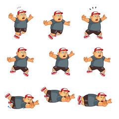 Fat Boy Falling Sprite