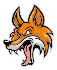 cartoon of bad fox