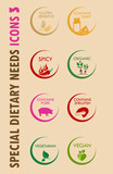 Special Dietary Needs Icons 3