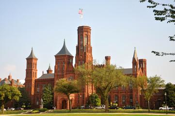 Smithsonian Castle in Washington, District of Columbia