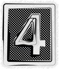 Polka Dot Font NUMBER 4