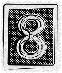 Polka Dot Font NUMBER 8