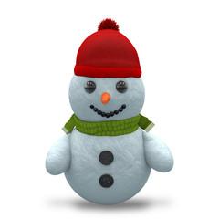 3D - Snowman - Shot 1