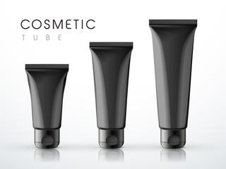 cosmetic packaging tube set