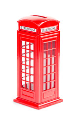 London red telephone box (souvenir)