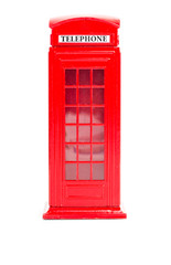 London red telephone box (souvenir)