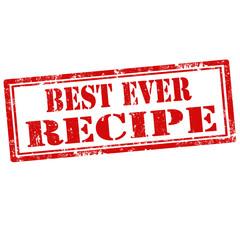 Best Ever Recipe-stamp