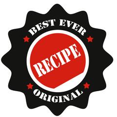 Recipe-label