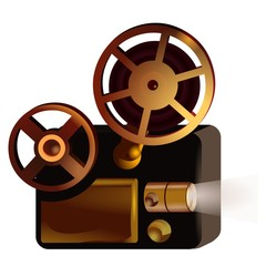 Projector Screening illustration