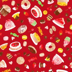 ケーキのパターン