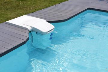 Water dispenser in pool