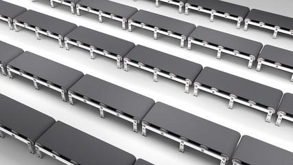 empty conveyor belt