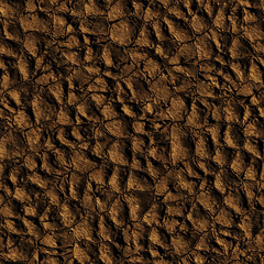 Seamless ground texture, abstract soil background