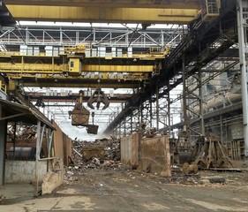 Scrap metal processing