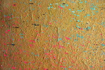 Farbspritzer an der Wand