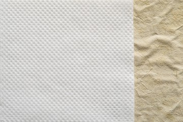 combination of two paper textures