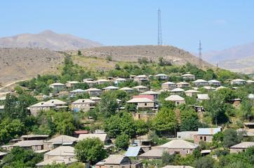 Село Арени в Армении