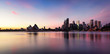canvas print picture - Sydney City  Skyline at sunrise