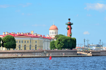 Санкт-Петербург, стрелка Васильевского острова