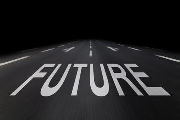 future auf straße