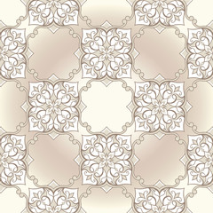 Vintage seamless texture on a beige background 001