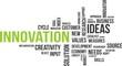 word cloud - innovation