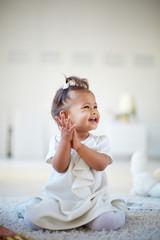 Playful infant