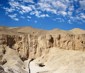 Valley of kings, Luxor, Egypt, UNESCO World Heritage Site