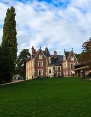 Amboise castle of Clos Luce