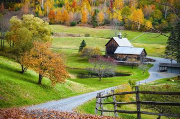Neuengland im Herbst