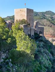 Lorca Castle Espolon Tower, Murcia Province, Spain