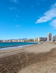 Aguilas Town Beach, Murcia Province, Spain
