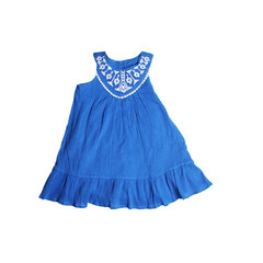 blue dress for girls